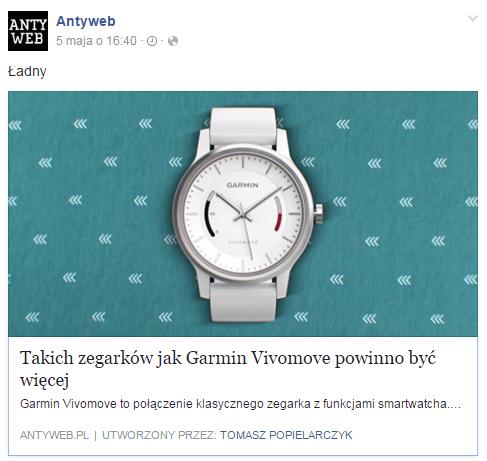 Polacy jeżdżą i biegają z GPS-em; coraz głośniej o smartwatchach. Liderem w mediach: Garmin.